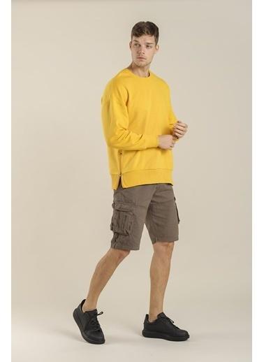 Oksit Sweatshirt Sarı